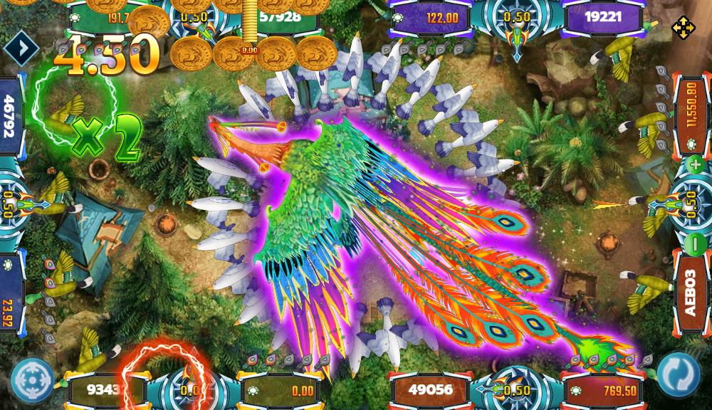 Bird Paradise เกมยิงปลาออนไลน์ที่เล่นง่ายที่สุด แจกเงินง่ายที่สุด