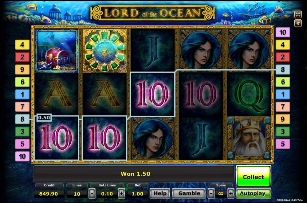 เกมสล็อต Lord Of The Ocean